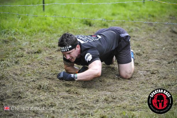 Spartan Sprint 2017 Barb Wire