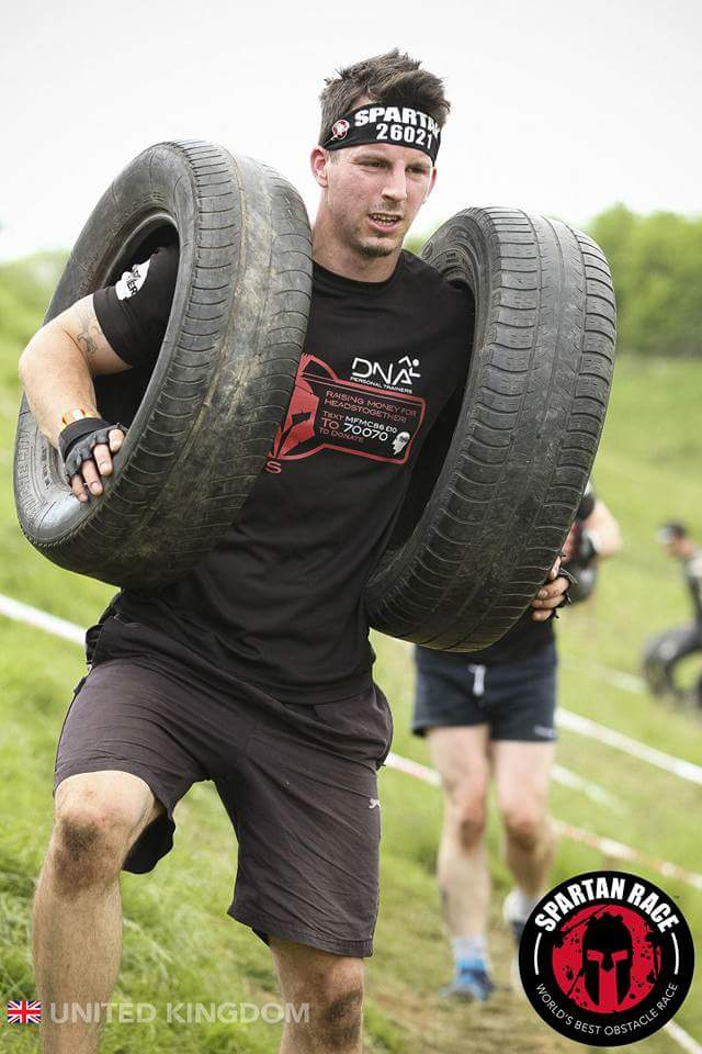 Spartan Sprint Tyre Carry