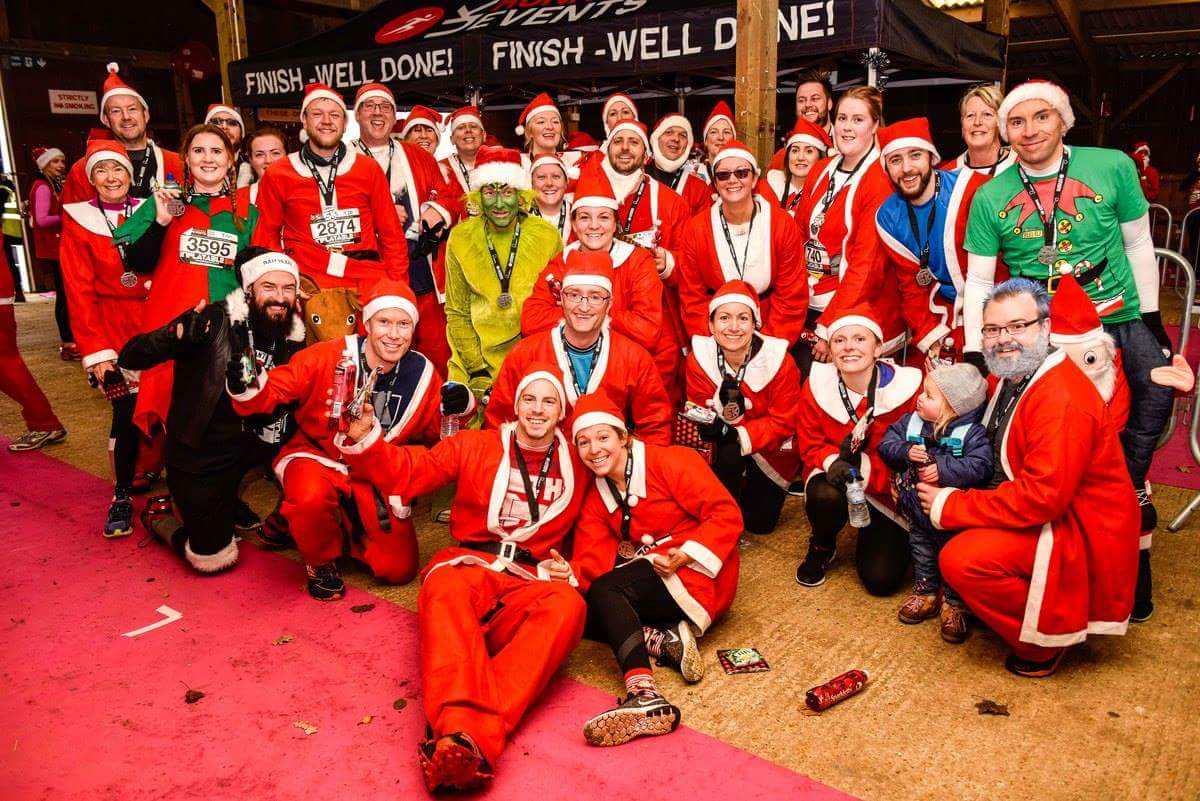 DNA PT 33 strong Santa Team