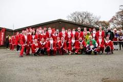 5k Inflatable Santa Run